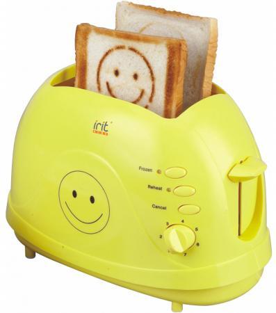 лучшая цена Тостер Irit IR-5103 жёлтый
