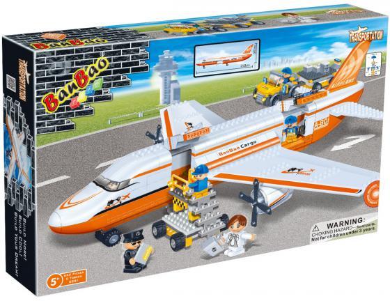 Конструктор BanBao Transportation: Гражданская авиация 660 элементов  8281 конструктор banbao гражданская авиация от 5 лет 660 деталей 8281пц