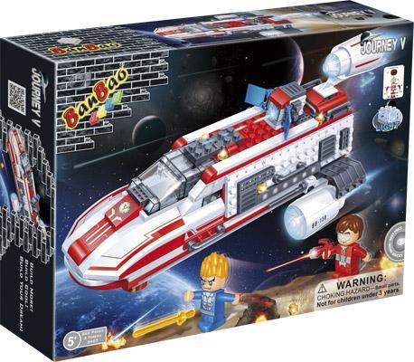 Конструктор BanBao Космический летательный аппарат 252 элемента 6408 банбао игрушка пластм конструктор космический летательный аппарат 237 дет banbao