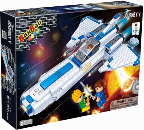 Конструктор BanBao Космический летательный аппарат 382 элемента 6406 banbao конструктор космический летательный аппарат