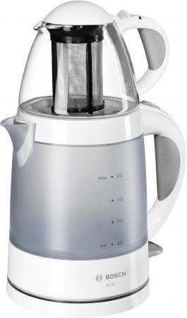 Чайник Bosch TTA2201 1785 Вт белый серый 2 л пластик электрический чайник bosch tta2201 tta2201