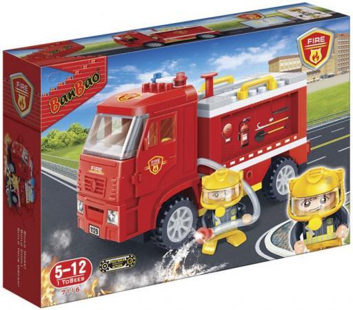 Конструктор BanBao Пожарная машина 126 элементов 7116