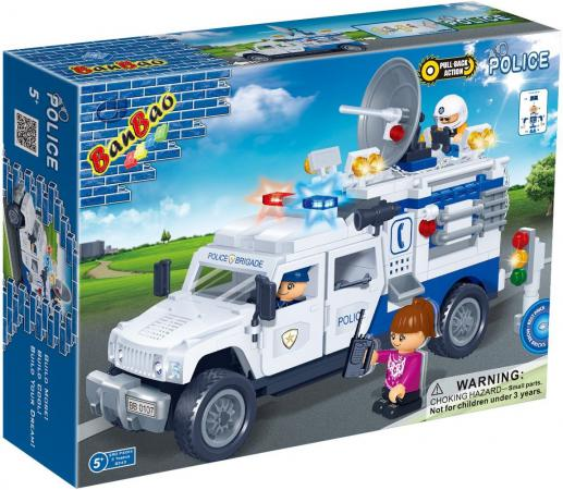 Конструктор BanBao Полицейский грузовик 290 элементов 8343