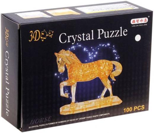 Пазл 3D 100 элементов Shantou Gepai Лошадь 9018 пазл 3d shantou gepai роза в ассортименте 9001