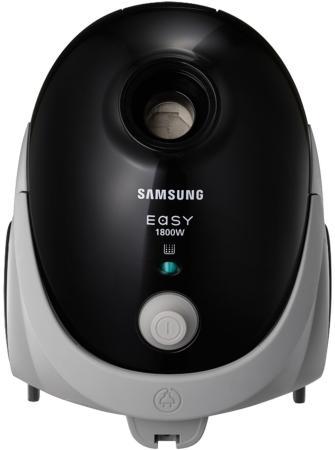 Пылесос Samsung SC5241 сухая уборка чёрный серый пылесос samsung v sc24jvnjgbj сухая уборка голубой чёрный