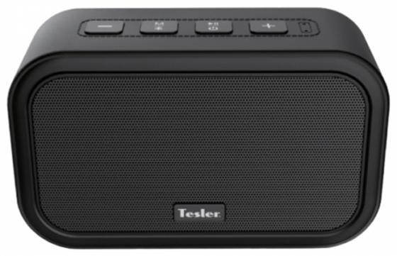Портативная акустикаTesler PSS-444 черный портативная колонка tesler pss 555