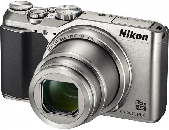 Фотоаппарат Nikon Coolpix A900 20.3Mp 35x Zoom серебристый