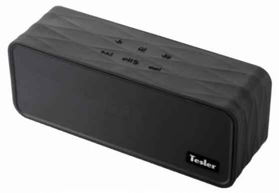 Портативная акустикаTesler PSS-555 черный портативная колонка tesler pss 555