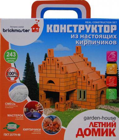 "Конструктор Brickmaster ""Летний домик"" 243 элемента 206 конструктор из глины brick master 206 летний домик"