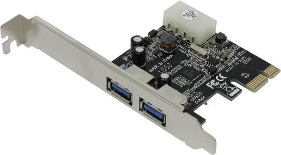 Контроллер PCI-E Orient NC-3U2PE USB3.0 Retail pci e to