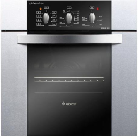 Электрический шкаф Gefest ЭДВ ДА 622-01 Н3 серебристый электрический шкаф gefest да 622 02с серебристый