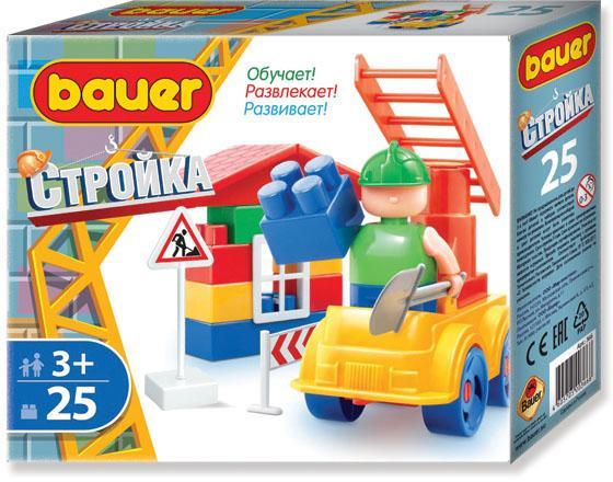 Конструктор Bauer Стройка 366 25 элементов конструктор bauer стройка 50 элементов 331