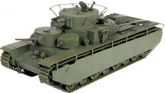Танк Звезда Советский средний танк Т-35 1:35 зеленый 3667 подгузники pampers подгузники premium care эконом р 5 11 18 кг 44 шт