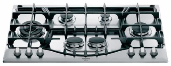 Варочная панель газовая Ariston PHN 961 TS/IX/HA серебристый варочная поверхность hotpoint ariston phn 962 ts ix ha steel