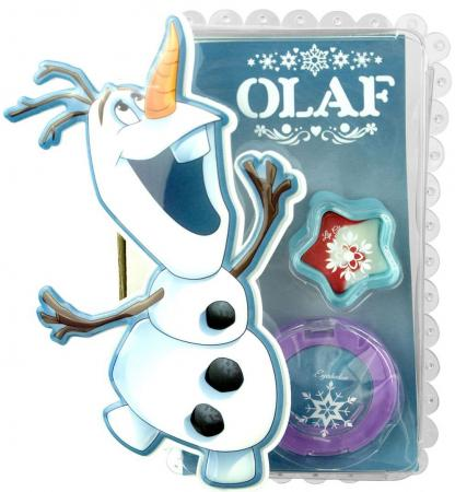 Игровой набор детской декоративной косметики Markwins Frozen Олаф 9606251 2 предмета markwins 9607351 frozen набор детской декоративной косметики в дорожном чемодане