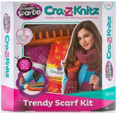 Набор для вязания Cra-Z-Art Шарф 6 шт 17121