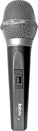 Микрофон BBK CM124 серый микрофон bbk cm215 blue pink