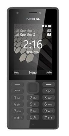 Мобильный телефон NOKIA 216 DS черный 2.4 мобильный телефон nokia 216 ds black черный