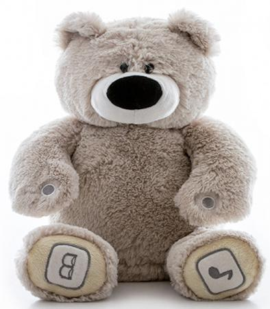 Интерактивная игрушка Luv`n Learn Медведь от 4 лет серый  20010L l pamukhina n filippova learn basic economics учебное пособие
