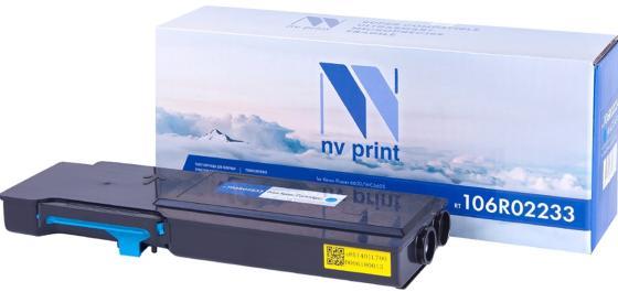 Фото - Картридж NV-Print 106R02233 для Xerox Phaser 6600 WC 6605 6000стр Голубой картридж nv print 106r02236 для для xerox phaser 6600 wc6605 8000стр черный