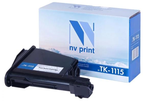 Картридж NV-Print TK-1115 для Kyocera FS-1041 FS-1220MFP FS-1320MFP 2100стр Черный картридж nv print tnp 27k 2100стр черный