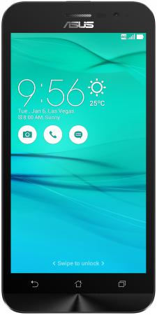 Смартфон ASUS ZenFone Go ZB500KG черный 5 8 Гб Wi-Fi GPS 3G 90AX00B1-M00130 смартфон asus zenfone live zb501kl золотистый 5 32 гб lte wi fi gps 3g 90ak0072 m00140