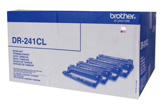 Картридж Brother DR241CL для HL-3140CW 3170CDW DCP-9020CDW MFC-9330CDW 15000стр комплект 4шт brother hl 3140cw hl3140cwr1