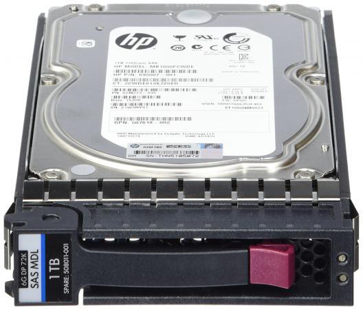 Жесткий диск 3.5 1Tb 7200rpm HP SAS 507614R-B21 3 5 жесткий диск 3tb hp 625031 b21 sas &lt 7200rpm&gt