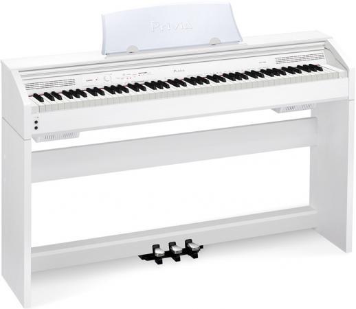 Цифровое фортепиано Casio Privia PX-760WE 88 клавиш USB белый  цена и фото