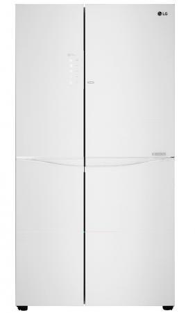 Холодильник LG GC-M257UGAW белый (двухкамерный) lg gc b207 gaqv
