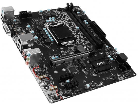 Материнская плата MSI H110M-A PRO M2 Socket 1151 H110 2xDDR4 1xPCI-E 16x 2xPCI-E 1x 4xSATAIII mATX Retail