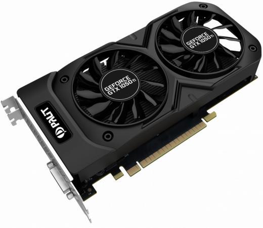 Видеокарта Palit GeForce GTX 1050 Ti NE5105TS18G1-1071D PCI-E 4096Mb GDDR5 128 Bit Retail цена и фото