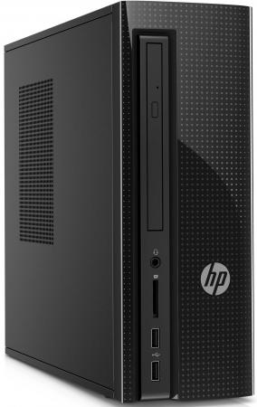 Системный блок HP 260 260-a120ur J3710 1.6GHz 4Gb 500Gb HD405 DVD-RW Win10 клавиатура мышь черный Z0J80EA ноутбук hp 15 bs027ur 1zj93ea core i3 6006u 4gb 500gb 15 6 dvd dos black