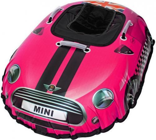 Тюбинг RT SNOW AUTO MINI до 120 кг ПВХ розовый 6051 rt snow auto mini l 6018