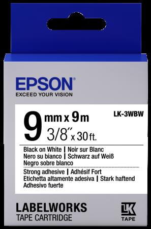 Лента Epson LK-3WBW C53S653007 цена
