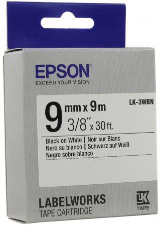 Лента Epson LK-3WBN C53S653003 цена