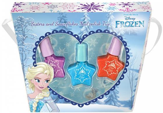 Игровой набор детской декоративной косметики Markwins Frozen Эльза 9606451 3 предмета markwins 9607351 frozen набор детской декоративной косметики в дорожном чемодане