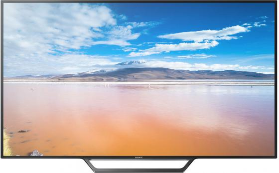 Телевизор 40 SONY KDL-40WD653 серебристый 1920x1080 200 Гц Wi-Fi Smart TV SCART RJ-45 sony kdl 40wd653 black телевизор