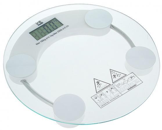 Весы напольные Irit IR-7250 прозрачный весы напольные irit ir 7236 белый рисунок