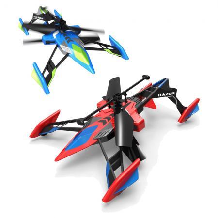 Вертолёт на радиоуправлении Spin Master Air Hogs разноцветный от 8 лет пластик 778988225387 вертолёт на радиоуправлении от винта fly 0231 зелёный от 7 лет пластик 87228
