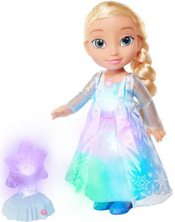 Кукла Disney Эльза - Северное сияние Холодное сердце 35 см светящаяся со звуком  297750