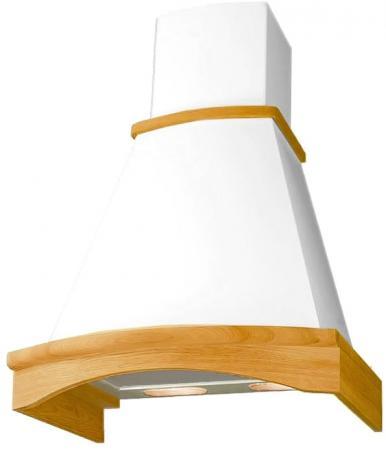 Вытяжка каминная Elikor Ротонда 60П-650-П3Л бежевый/дуб бежевый elikor ротонда 60п 650 п3л мед дуб вытяжка