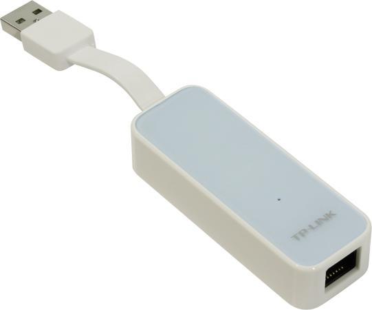 Сетевой адаптер TP-LINK UE200 USB 2.0 10/100Mbps сетевой адаптер питания lp с usb выходом