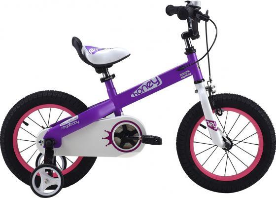 Велосипед двухколёсный Royal baby HONEY Buttons, 16 фиолетовый