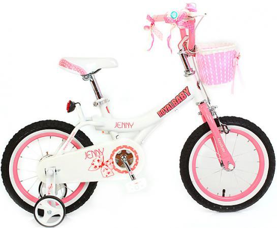 """Велосипед двухколёсный Royal baby Princess Jenny Girl Bike 14"""" розовый"""