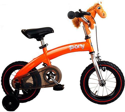 Велосипед двухколёсный Royal baby Pony 12 оранжевый