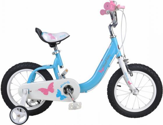 """Велосипед двухколёсный Royal baby Butterfly 12"""" синий"""