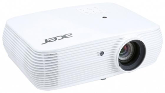 Проектор Acer A1200 1024x768 3200 люмен 20000:1 белый проектор acer x1226h dlp 1024x768 4000 люмен 20000 1 черный mr jpa11 001