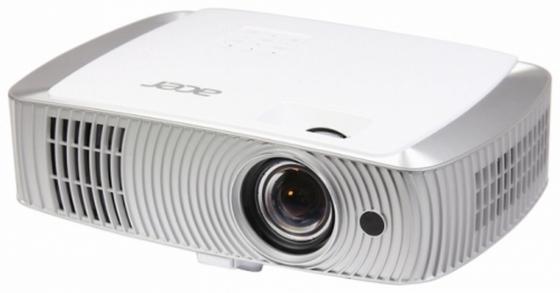 Проектор Acer H7550ST 1920х1080 3000 люмен 16000:1 белый серебристый цена