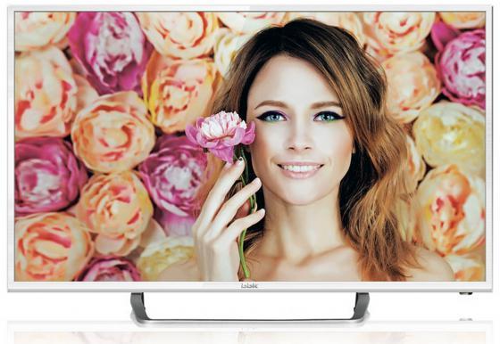 Фото - Телевизор LED 24 BBK 24LEM-1037/T2C белый 1366x768 50 Гц SCART VGA USB HDMI телевизор bbk 24 24lem 1037 t2c белый